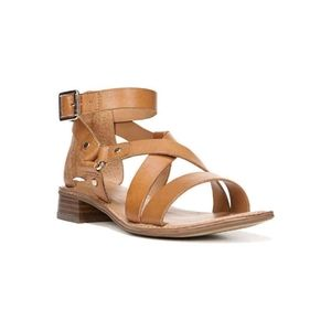FRANCO SARTO April Leather Gladiator Sandals 8.5